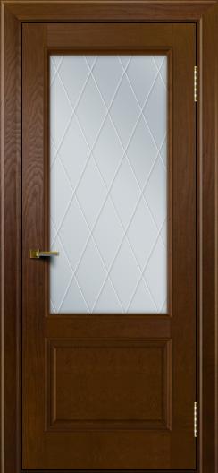Двери ЛайнДор Кантри тон 30 стекло Лондон