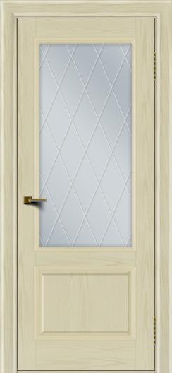 Двери ЛайнДор Кантри тон 34 стекло Лондон