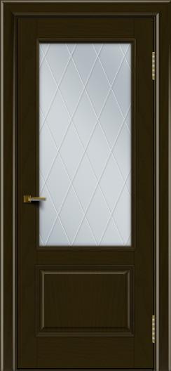 Двери ЛайнДор Кантри тон 35 стекло Лондон