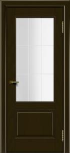 Двери ЛайнДор Кантри тон 35 стекло Решетка