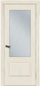 Двери ЛайнДор Кантри тон 36 стекло Лондон