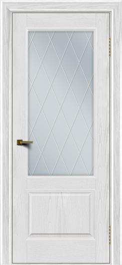 Двери ЛайнДор Кантри тон 38 стекло Лондон
