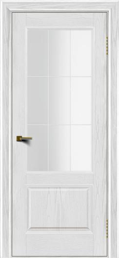 Двери ЛайнДор Кантри тон 38 стекло Решетка