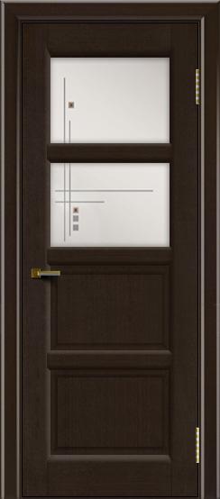 Двери ЛайнДор Классика 2 венге тон 12 стекло Классика 2