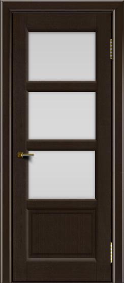 Двери ЛайнДор Классика 2 венге тон 12 стекло белое 3