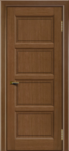 Двери ЛайнДор Классика 2 дуб тон 5 глухая