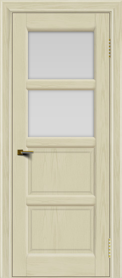 Двери ЛайнДор Классика 2 тон 34 стекло белое 2