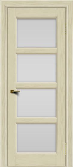 Двери ЛайнДор Классика 2 тон 34 стекло белое 4