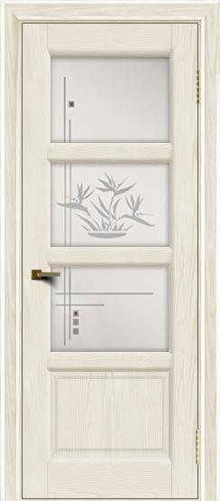 Двери ЛайнДор Классика 2 тон 36 стекло Классика 3