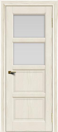 Двери ЛайнДор Классика 2 тон 36 стекло белое 2