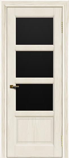 Двери ЛайнДор Классика 2 тон 36 стекло черное 3