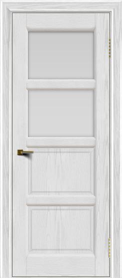 Двери ЛайнДор Классика 2 тон 38 стекло белое 2