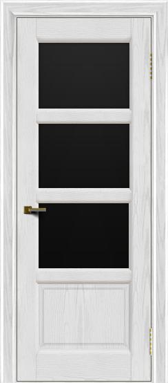 Двери ЛайнДор Классика 2 тон 38 стекло черное 3
