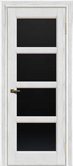 Двери ЛайнДор Классика 2 тон 38 стекло черное 4