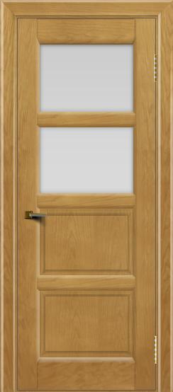 Двери ЛайнДор Классика 2 ясень тон 24 стекло белое 2