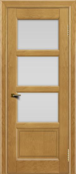 Двери ЛайнДор Классика 2 ясень тон 24 стекло белое 3