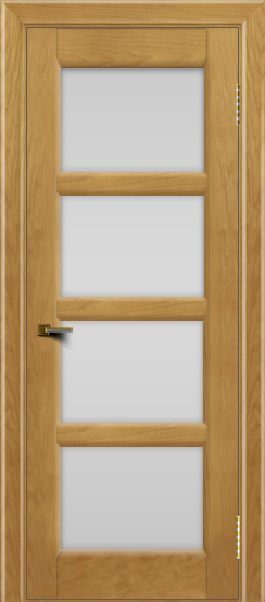 Двери ЛайнДор Классика 2 ясень тон 24 стекло белое 4