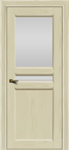 Двери ЛайнДор Кристина 2 тон 34 белое верхнее стекло