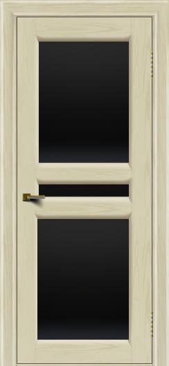 Двери ЛайнДор Кристина 2 тон 34 черное полное стекло