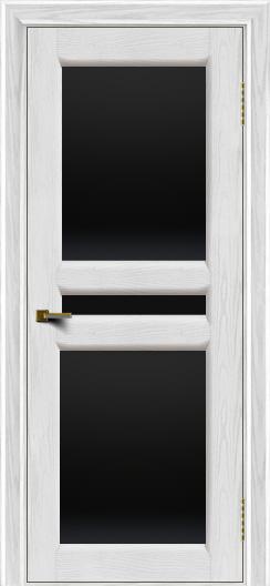 Двери ЛайнДор Кристина 2 тон 38 черное полное стекло