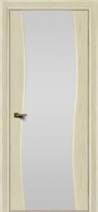 Двери ЛайнДор Лайма тон 34 стекло Белое