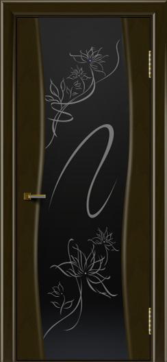Двери ЛайнДор Лайма тон 35 стекло Камелия
