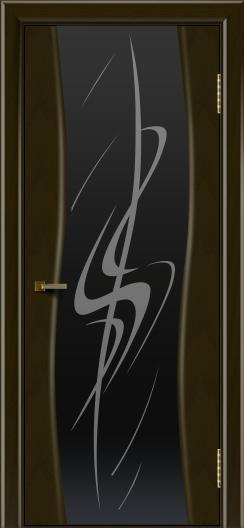 Двери ЛайнДор Лайма тон 35 стекло Пламя