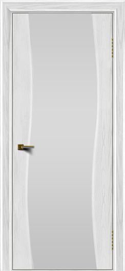 Двери ЛайнДор Лайма тон 38 стекло Белое