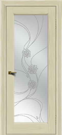 Двери ЛайнДор Мальта 2 тон 34 стекло Астра наливка