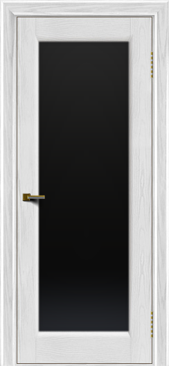 Двери ЛайнДор Мальта 2 тон 38 стекло черное