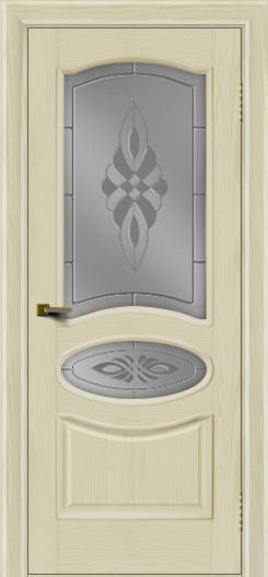 Двери ЛайнДор Оливия тон 34 стекло Византия