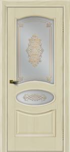 Двери ЛайнДор Оливия тон 34 стекло Дамаск