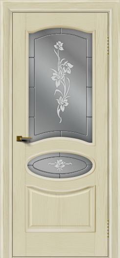 Двери ЛайнДор Оливия тон 34 стекло Рим