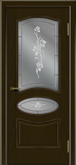 Двери ЛайнДор Оливия тон 35 стекло Рим