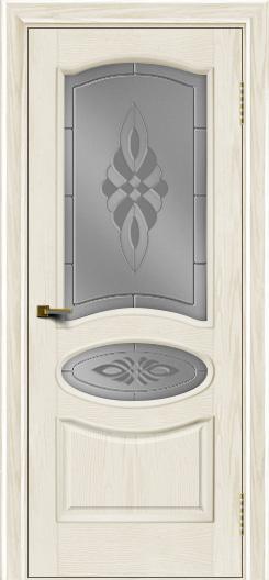 Двери ЛайнДор Оливия тон 36 стекло Византия