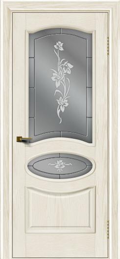Двери ЛайнДор Оливия тон 36 стекло Рим
