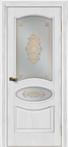 Двери ЛайнДор Оливия тон 38 стекло Дамаск