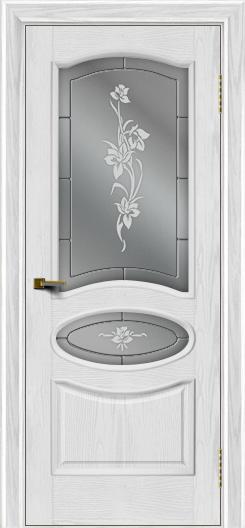Двери ЛайнДор Оливия тон 38 стекло Рим