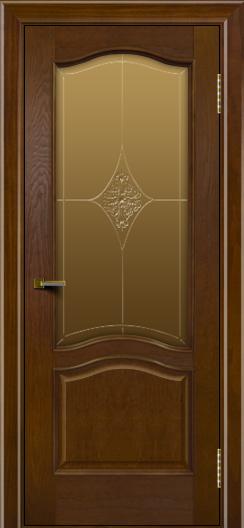 Двери ЛайнДор Пронто тон 30 стекло Амелия бронза
