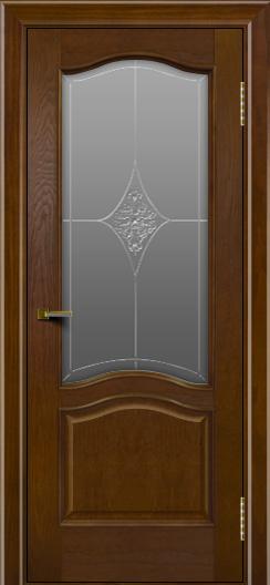 Двери ЛайнДор Пронто тон 30 стекло Амелия