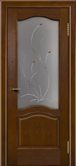 Двери ЛайнДор Пронто тон 30 стекло Ковыль