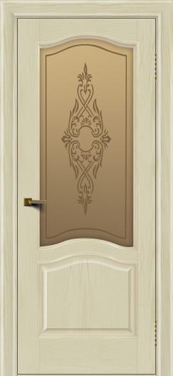 Двери ЛайнДор Пронто тон 34 стекло Айрис бронза