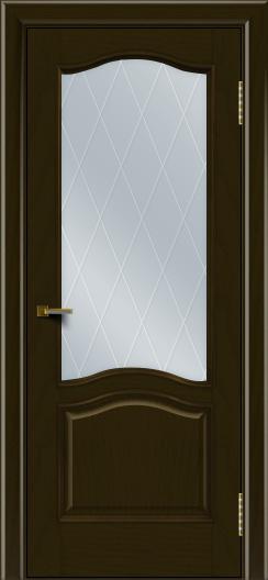 Двери ЛайнДор Пронто тон 35 стекло Лондон
