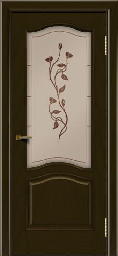 Двери ЛайнДор Пронто тон 35 стекло Маки