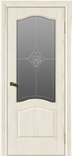 Двери ЛайнДор Пронто тон 36 стекло Амелия