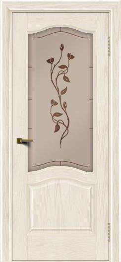 Двери ЛайнДор Пронто тон 36 стекло Маки