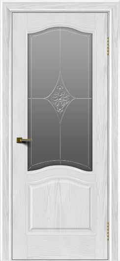 Двери ЛайнДор Пронто тон 38 стекло Амелия