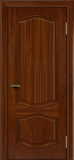 Двери ЛайнДор София красное дерево тон 10 глухая