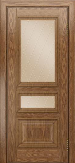 Двери ЛайнДор Агата тон 45 стекло Лондон бронза
