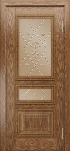Двери ЛайнДор Агата тон 45 стекло Прима бронза